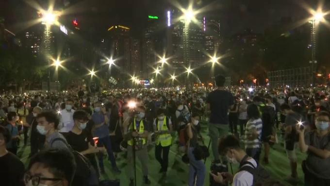 Protest în Hong Kong