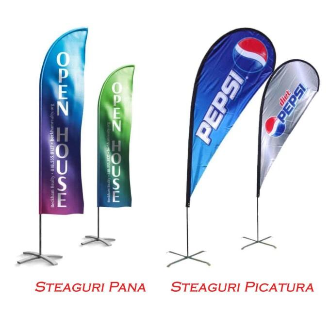 (P) Promovare ecologica cu steaguri personalizate si alegerea bazelor potrivite