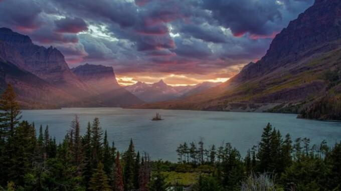lac St. Mary Montana