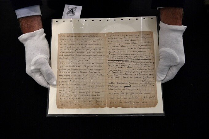Suma uriașă cu care s-a vândut o scrisoare semnată de pictorii Van Gogh și Gauguin. GALERIE FOTO - 6
