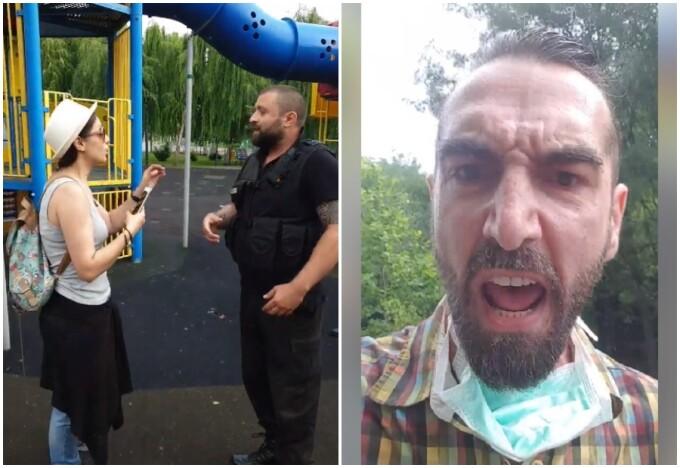 Cristina Bălan, câștigătoarea Vocea României, bruscată de polițiști, după ce copiii ei s-au urcat într-un tobogan