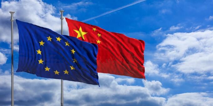 UE, China