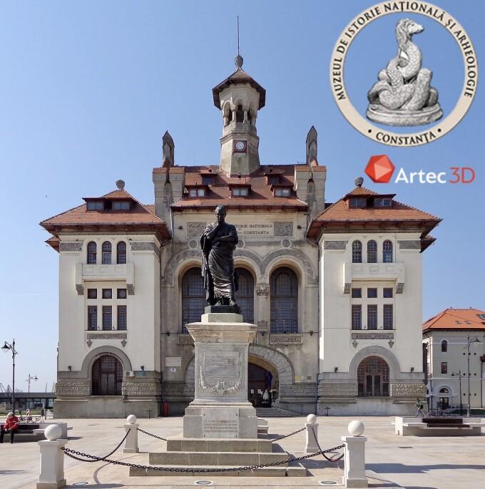 (P) Muzeul de Istorie și Arheologie din Constanța foloseste scanerul 3D Artec Leo pentru digitalizarea 3D a obiectelor de artă