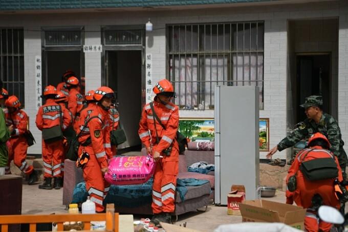pompieri china