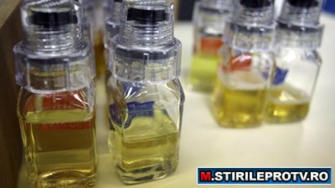 Sticle cu urina