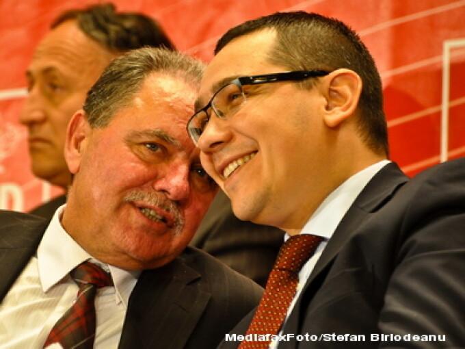 Constantin Nicolescu si Victor Ponta