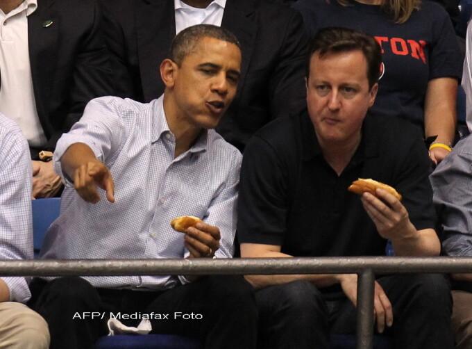 Barack Obama si David Cameron