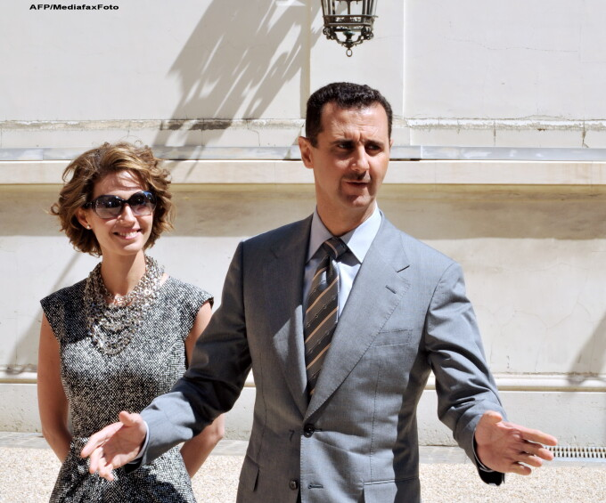 Bashar al-Assad si sotia sa, Asma