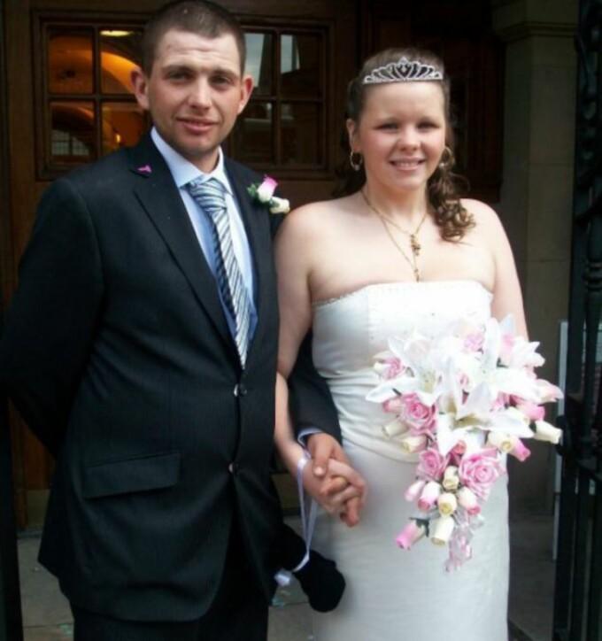 Tammy Driver si sotul, nunta