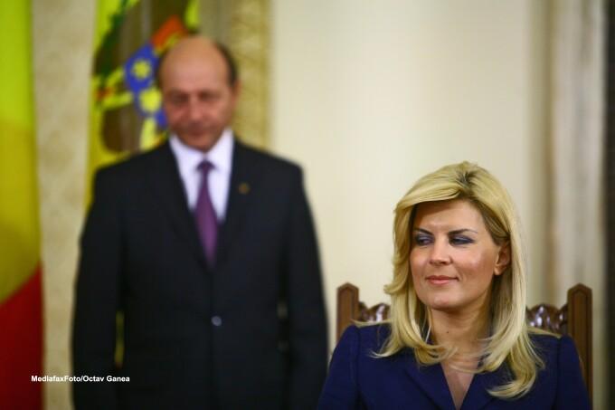 Elena Udrea, Traian Basescu
