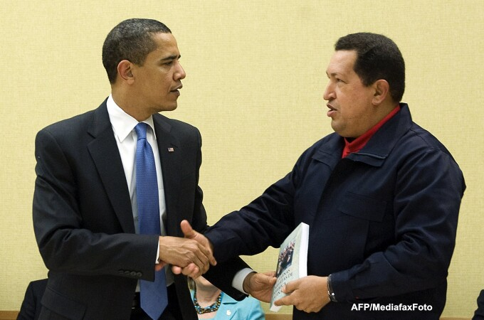 Barack Obama, Hugo Chavez