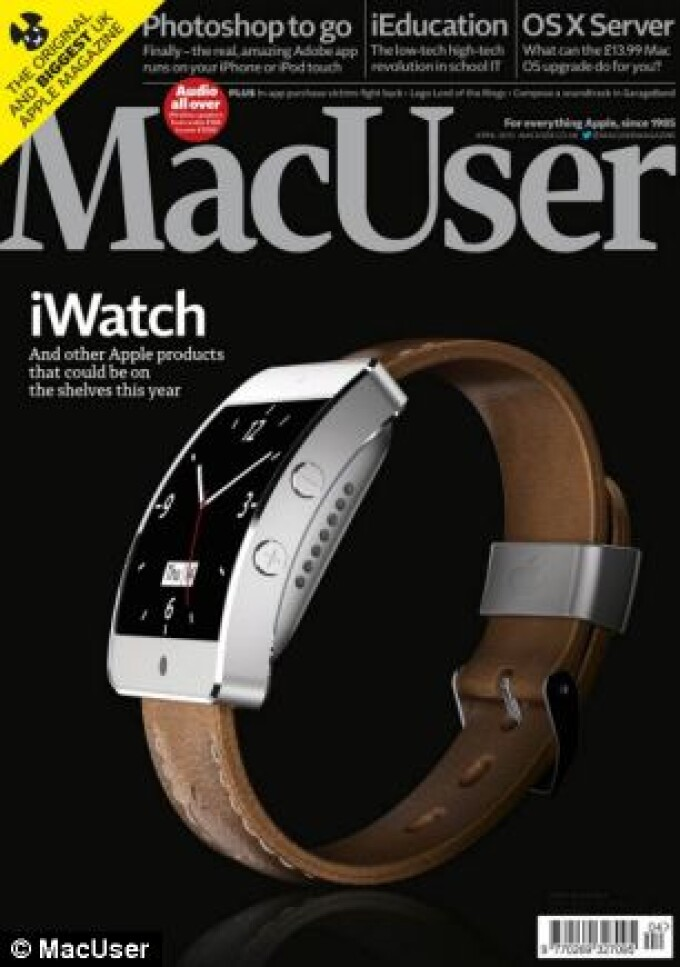 revista MacUser, iWatch