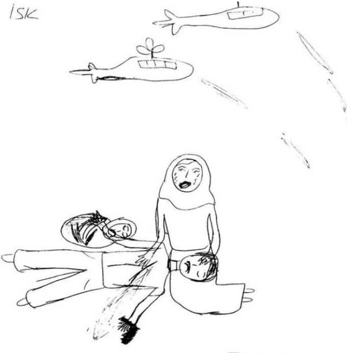 desen, copii sirieni refugiati 3