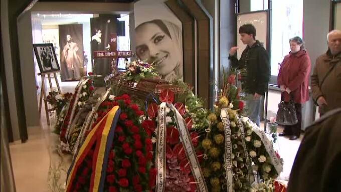 Inmormantare Irina Petrescu