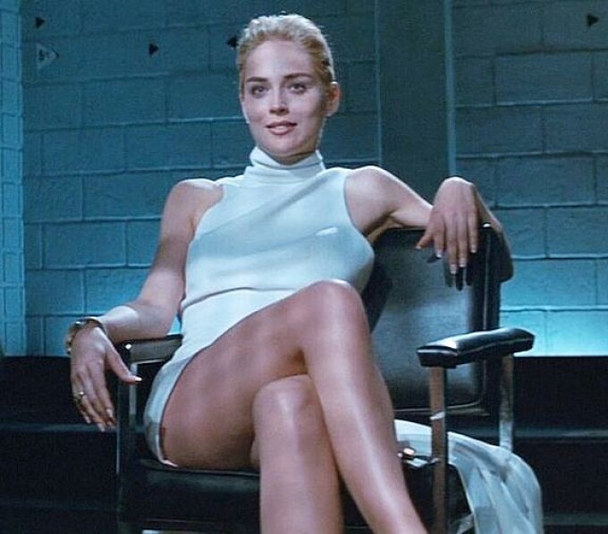 Sharon Stone in filmul Basic Instinct