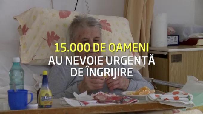 15.000 de romani au nevoie urgenta de ingrijire
