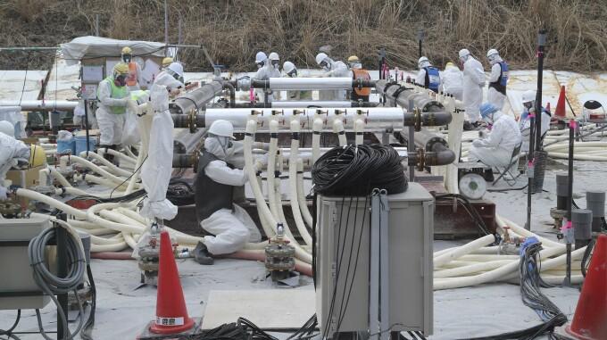 Sisteme de criogenare care protejeaza centrala Fukushima