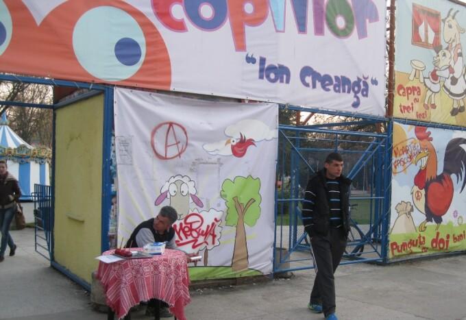 comert Parcul Copiilor Timisoara