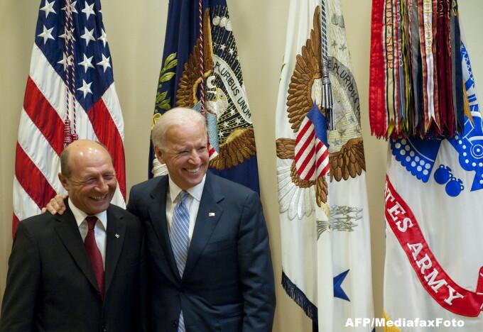 Traian Basescu, Joe Biden