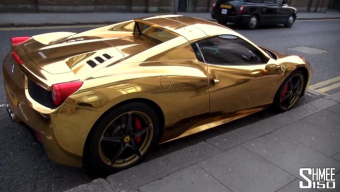 Ferrari aurit