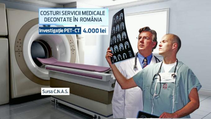 Costuri medicale decontate in Romania