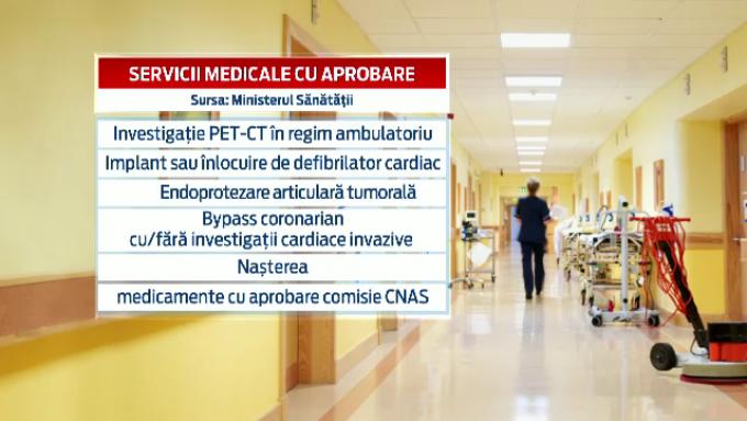 Servicii medicale cu aprobare