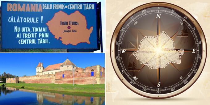 cover centrul geografic al Romaniei