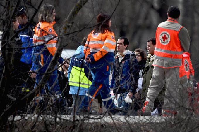 familiile victimelor zborului 9525