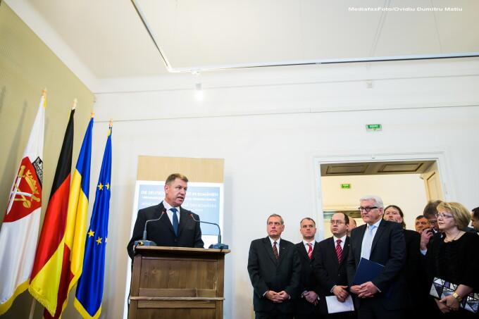 Klaus Iohannis, Bogdan Aurescu