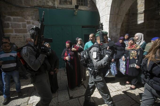 Intalnirea cu femeia palestiniana