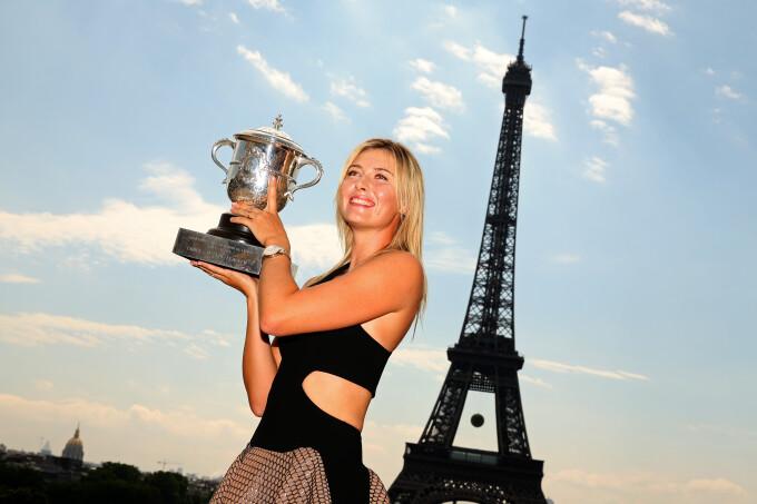 Maria Sharapova - getty
