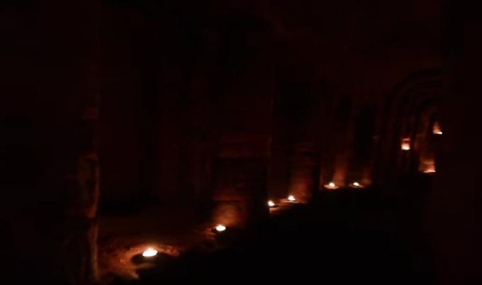 tunel cavaleri templieri