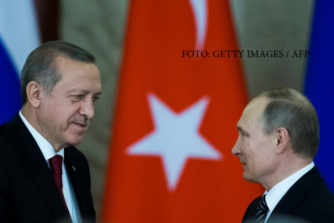 Intalnire Putin - Erdogan, la Kremlin
