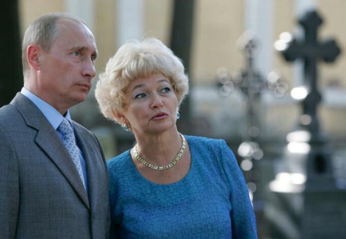 vladimir putin Lyudmila Narusova