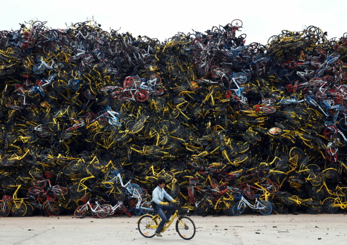Biciclete abandonate China