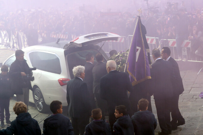 Davide Astori inmormantare