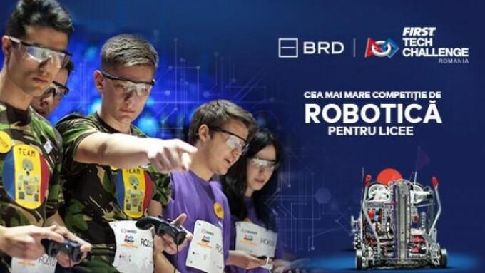 BRD FIRST Tech Challenge România