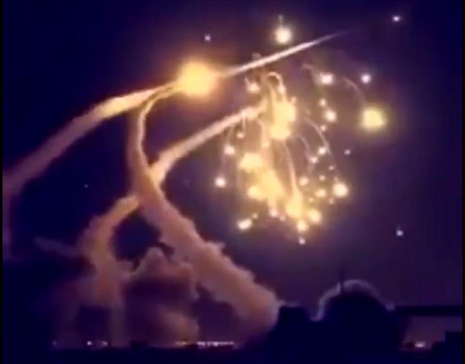 atac cu rachete asupra Riadului