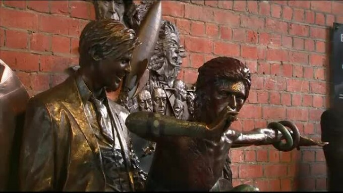 statuie Bowie