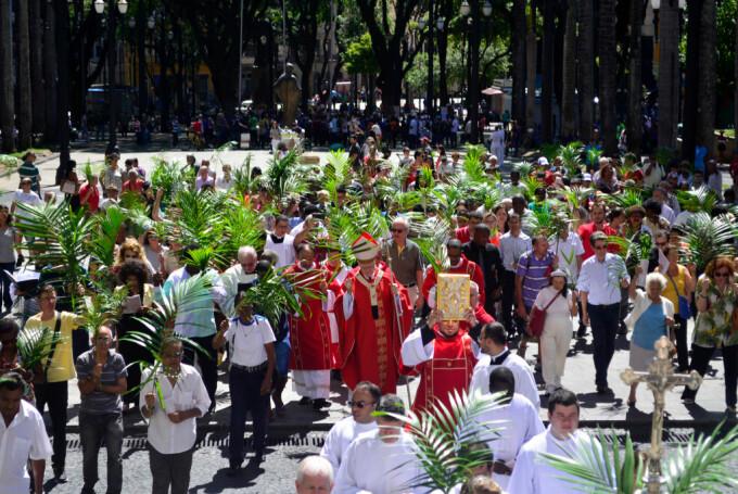 Un miliard de catolici au sărbătorit Duminica Floriilor