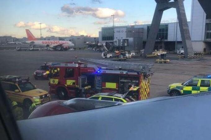 incident aeroport gatwick