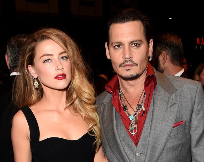 Johnny Depp, Amber Heard,