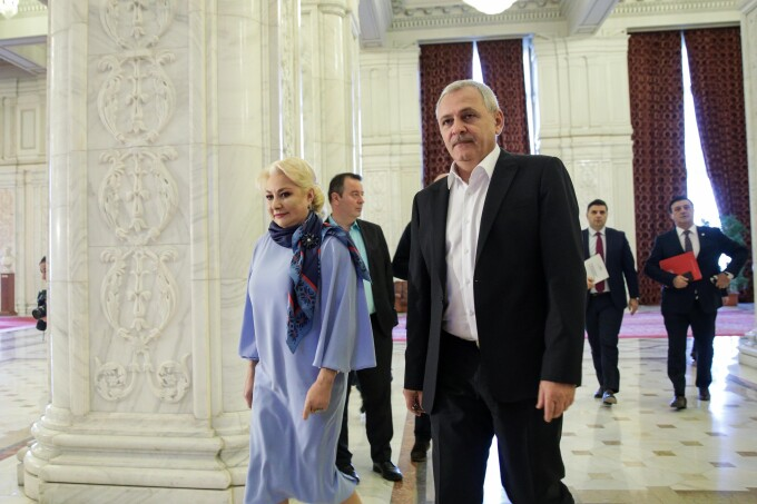 Viorica Dancila, Liviu Dragnea