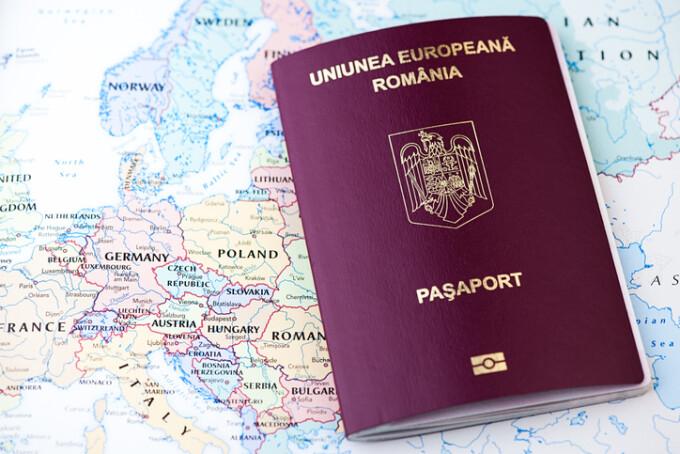 pasaport romanesc