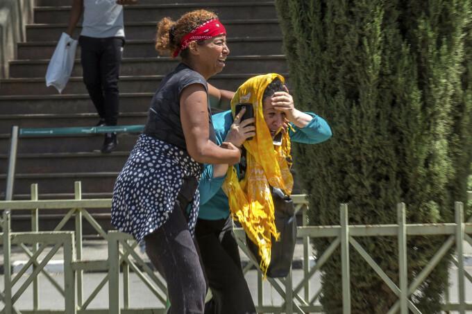 Familiile victimelor accidentului aviatic din Etiopia au ajuns în aeroportul din capitala Addis Ababa.