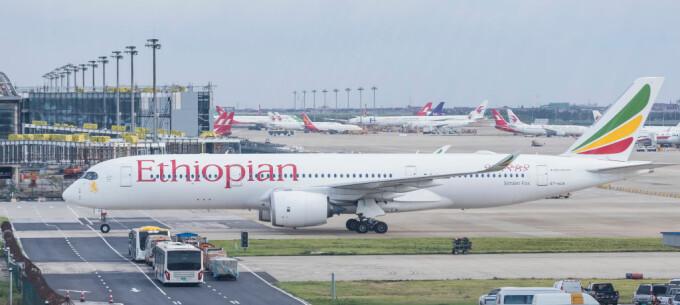 Avion al companiei Ethiopian Airlines