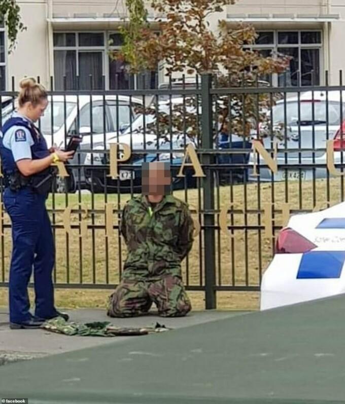 atac armat Christchurch