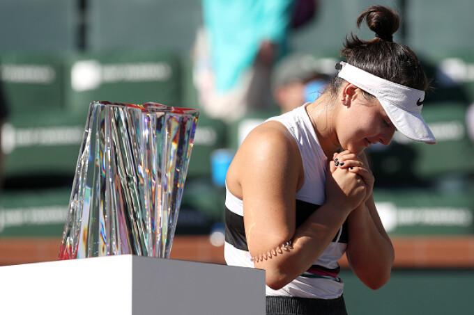 Bianca Andreescu a scris istorie la Indian Wells - 1