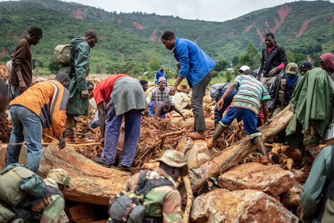 Dezastru în Indonezia după trecerea ciclonului Idai - 12