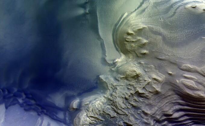 munti pe Marte